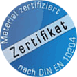 Materialzertifikat